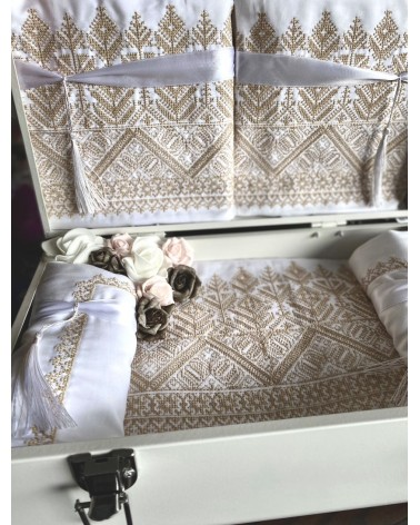 Wedding Boxe Broderies Taupe